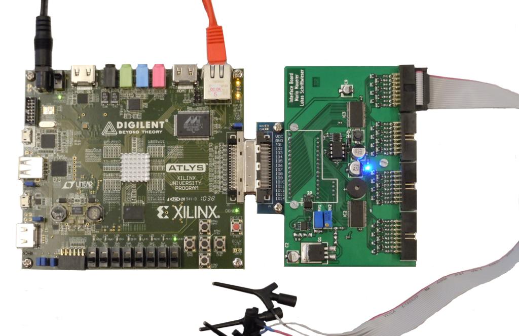 AMIV Bastli - BitHound - An FPGA Based Logic Analyzer